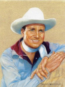 Gene Autry by Jim Sanders