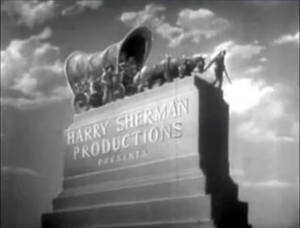 Harry Sherman Productions Logo